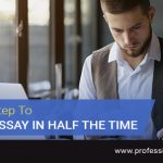 A Top-Secret Step To Writing An Essay In Half The Time
